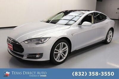 2014 Tesla Model S 85 4dr Liftback Texas Direct Auto 2014 85 4dr Liftback Used Automatic RWD
