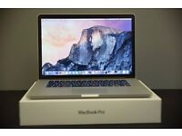 "MacBook Pro 15"" (( i7 turbo boosted to 4ghz, 16gb ram, 1tb Flash storage ))"