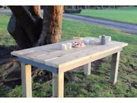 Handmade Reclaimed Wooden Dining Table