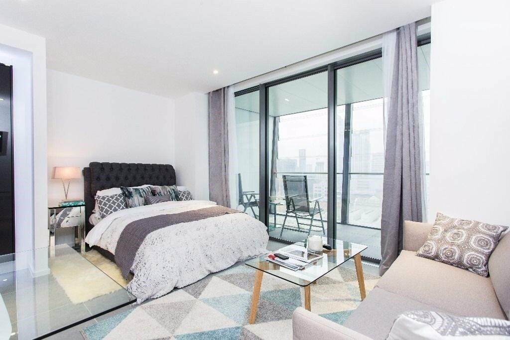 LUXURY STUDIO DOLLAR BAY E14 CANARY WHARF SOUTH HERON QUAY DOCKLANDS CROSSHARBOUR