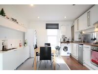 Beautiful 2 double bed furnished top floor flat, period conversion, Bow E3, walk to station & shops