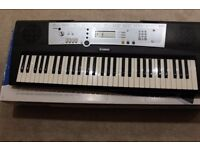 Yamaha Keyboard with many styles and songs
