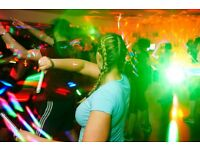 GloEnvy Fitness sessions for Adults in Bristol (a fun workout with glow sticks in the dark)