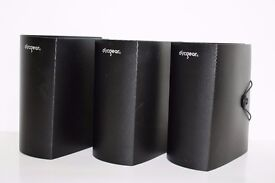 3 x Discgear Literature Albums holds 120 DVD, Blu-ray, CD Media / Art Sleeves - Great Condition!