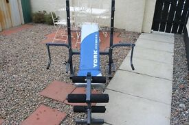York Weight/Fitness/Multi Gym Bench (Weights)