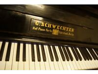 German over strung piano - Previously restored - UK delivery available