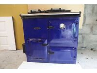 Rayburn oil fired cooker.