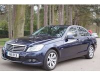 Mercedes-Benz C Class 2.1 C220 CDI BlueEFFICIENCY SE 4dr (start/stop) FACE LIFT/FULL HISTORY/£30 TAX