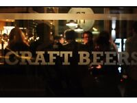 General Manager needed for West London craft beer bar and music venue