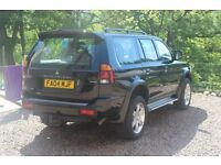 FOR SALE. MITSUBISHI SHOGUN SPORT WARRIOR 4X4