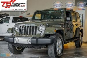 2015 Jeep WRANGLER UNLIMITED Sahara | NO ACC. | BASIC & POWER-TR