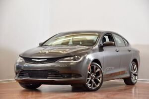 2016 Chrysler 200 S V6 CAM ENSEMBLE CONFORT