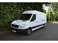 2011 MERCEDES SPRINTER 313 CDI LWB FSH NEW ENGINE FITTED DRIVES EXCELLENT