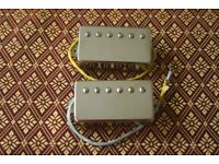 Matched Pair of StewMac Golden Age Overwound Humbucking Pickups