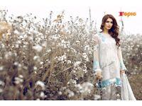 Rosemeen Pakistani Style Straight Salwar Kamiz