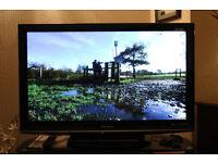 "42"" PANASONIC VIERA MODEL TX-P42G10B HD PLASMA TELEVISION WITH FREESAT"