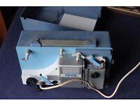 Ricoh auto 8P Trioscope 8mm cine projector Super 8 / Standard 8 Untested