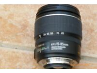 Canon 15 85mm Lens