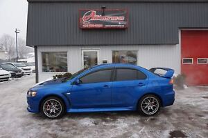 2011 Mitsubishi LANCER EVOLUTION X AWD TURBO **WOW** TRÈS RARE S