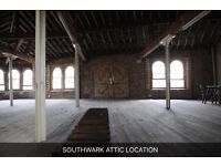 Two Industrial spaces and Penthouse location for filming and photoshoot at espero studio