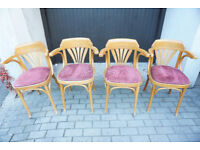 4 Vintage Cafe Chairs FREE DELIVERY CENTRAL EDINBURGH