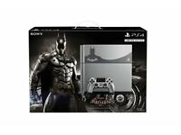 Sony Playstation 4 Ps4 Batman Limited Edition with all leads & Box / Only £199 and 1 year Warranty