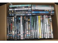 Collection of 38 Assorted Films on DVD