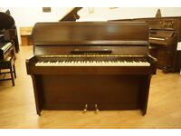Small Zender upright piano - Tuned & UK delivery available