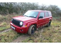 JEEP PATRIOT LIMITED 4#4 2008 .ABSOLUTE BARGAIN.