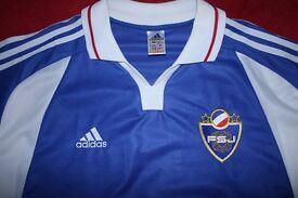 Adidas Yugoslavia Football Shirt