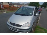 2004 FORD GALAXY, 1.9 TDI ZETEC, LEATHER SEATS, TV, ELECTRIC WINDOWS, CAT D