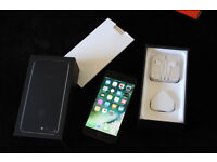 BRAND NEW APPLE IPHONE 7 PLUS 128GB FACTORY UNLOCKED AND COMPLETE WITH UNUSED ACCESSORIES