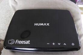 HUMAX FREESAT BOX HDR 1100S 500GB