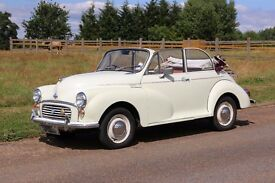 Beautiful Morris Minor Convertible