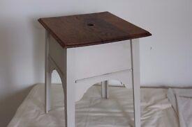 Vintage sewing/craft box, refurbished, upcycled.