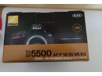 Nikon D5500 & Lens
