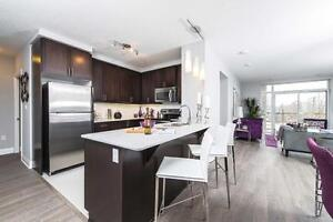 Two Bedrooms and Two Bathrooms in Uptown Waterloo New Building