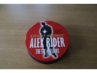 Alex Rider audio book series