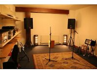 creative music rehearsal space & storgae