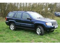 2004 Jeep Grand Cherokee 2.7 CRD Automatic Diesel 4x4 FULL service history 6 month MOT NOT REG PLATE