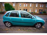 2004 Vauxhall Corsa Energy 1.2L 5-door Spearmint Silver, new suspension, full service records