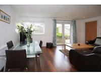 2 Bed semi-detached house (recent refurb) with parking, garden, patio & shed