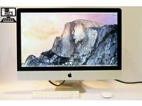 " 27"" Apple iMac Core 2 Duo 3.06Ghz 8gb 1TB Final Cut Pro X Davinci Resolve AutoCad Vectorworks "