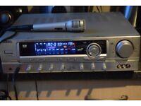 WEIDA AV-300 KARAOKE AMP 160W 2 MIC IN/4 SPEAKERS LINE OUT