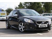 2012 Volvo C30 R Design D2, FSH, Long MOT 58,481 miles, 2 owners, £30 tax may Swap / PX
