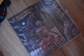Iron Maiden Somewhere in Time Vinyl