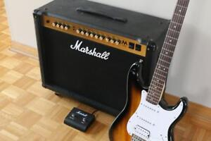Marshall MA100C  **FULL LAMPES** + Footswitch