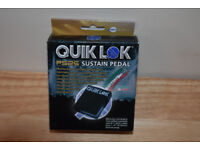 Quiklok PS25 Dual Polarity Universal Sustain Pedal