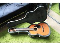 Vintage Manuel Rodriguez C1 classical guitar + Kisielewski (Desperado style) hard case