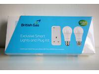 Hive British Gas Exclusive Smart Lights and Plug Kit